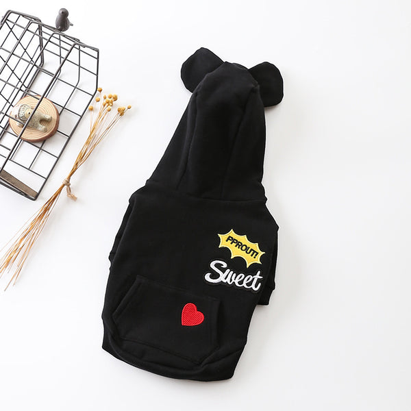 Pet Pure Cotton Hoodie