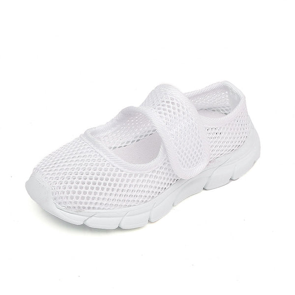 Toddler / Kids Breathable Solid Net Surface Sneakers