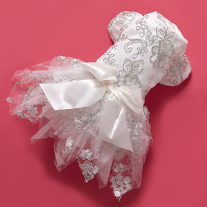 Lace Bow-knot Dress for Your Pet