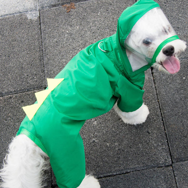 Cute Pet Raincoat