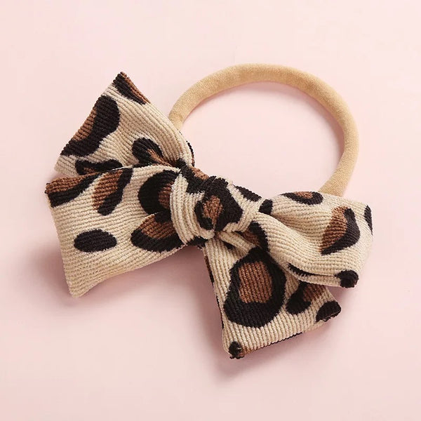 Pretty Colorblock Bowknot Headband for Girls