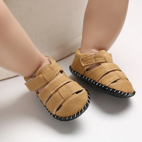 Baby / Toddler Solid Causal Canvas Prewalker Sandals