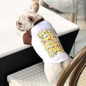 Dog Pattern Short Sleeve