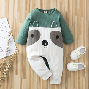 Baby Adorable Animal Splice Jumpsuits
