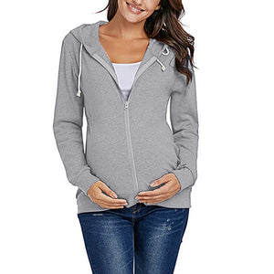 Maternity Plain Coat