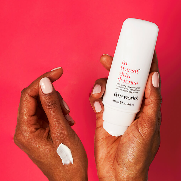 This Works In Transit Skin Defence SPF 45 Skincare