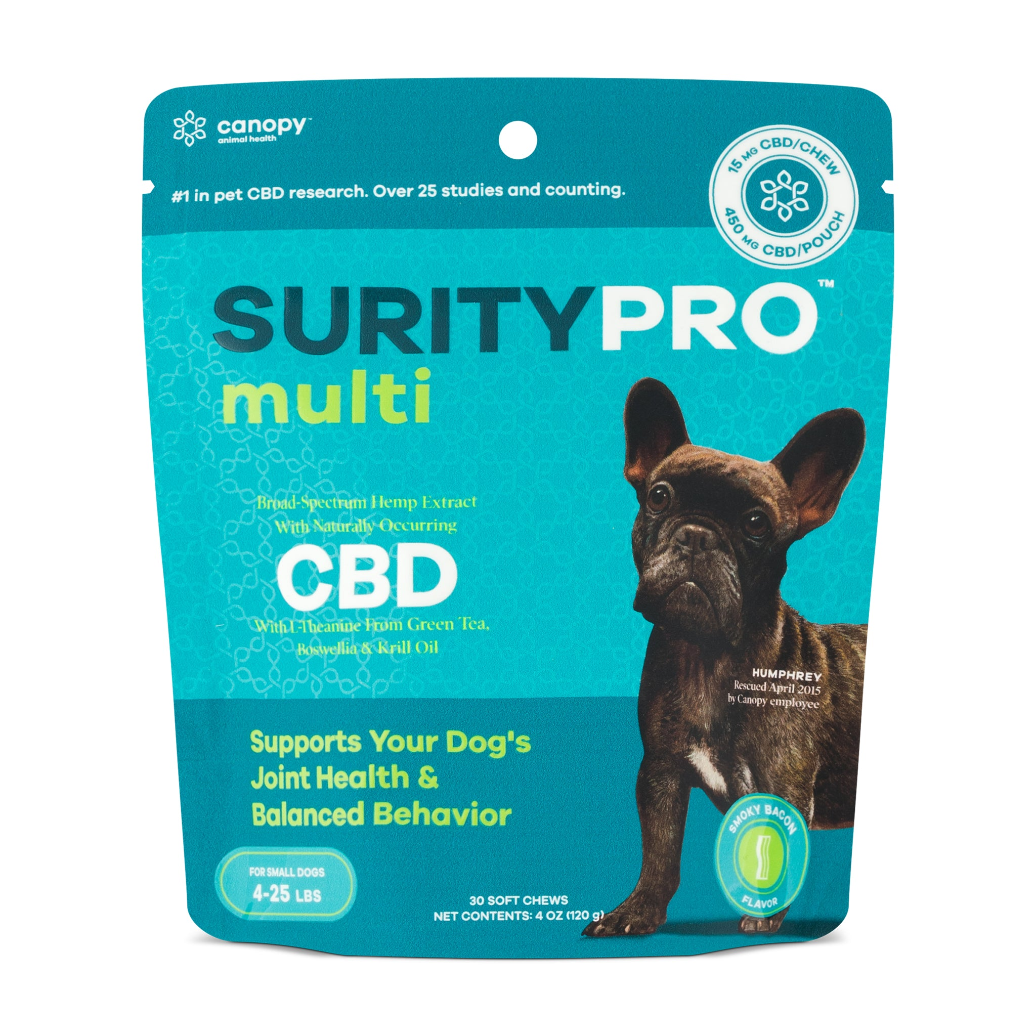 SurityPro Multi Smoky Bacon Flavor Soft Chews