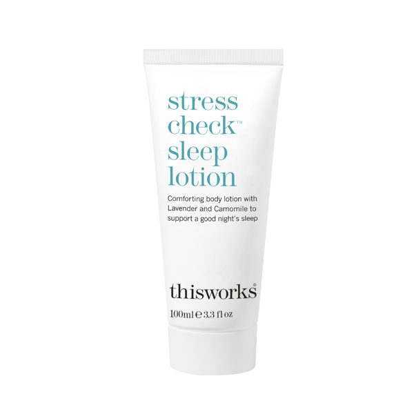 This Works Stress Check Sleep Lotion