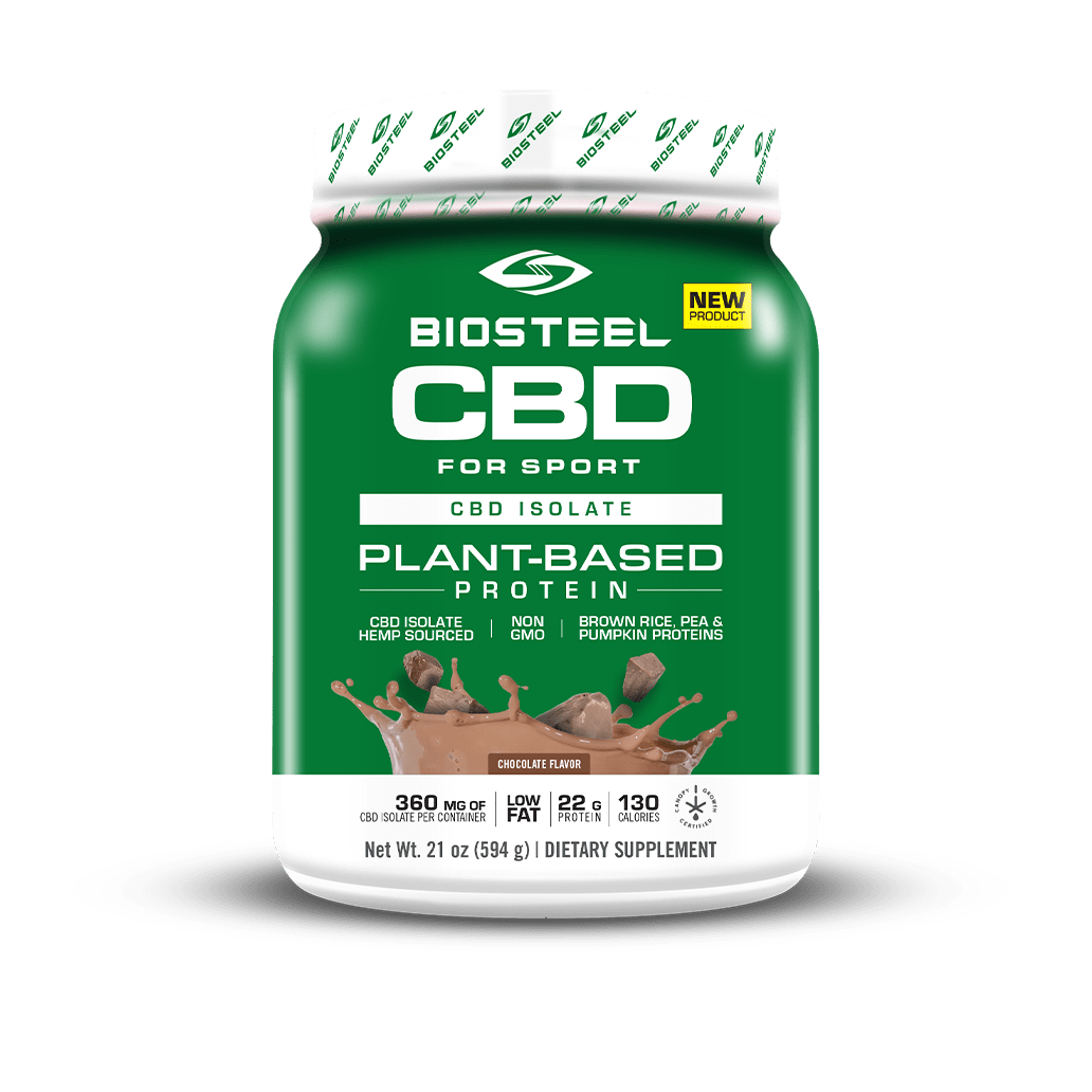 BioSteel CBD Plant-Based Chocolate Protein