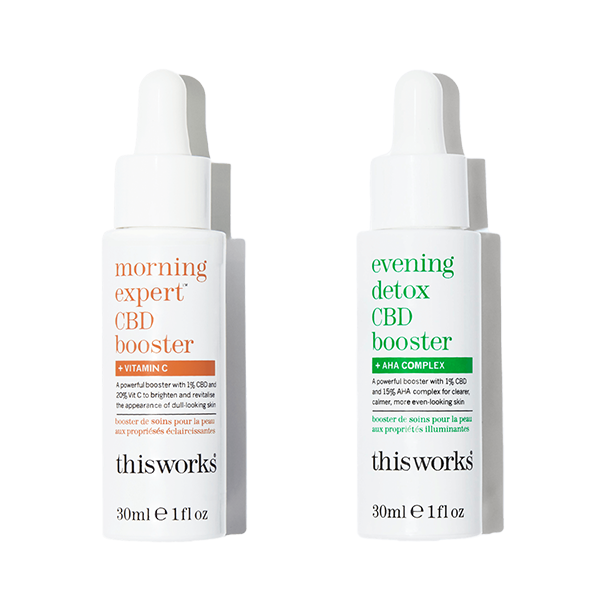 This Works Day & Night CBD Skincare Bundle