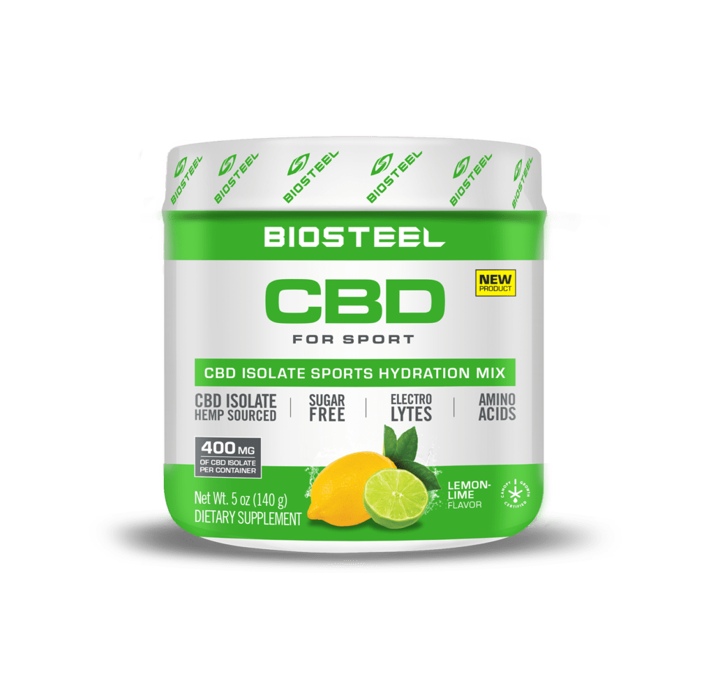 BioSteel CBD Lemon Lime Sports Hydration Mix