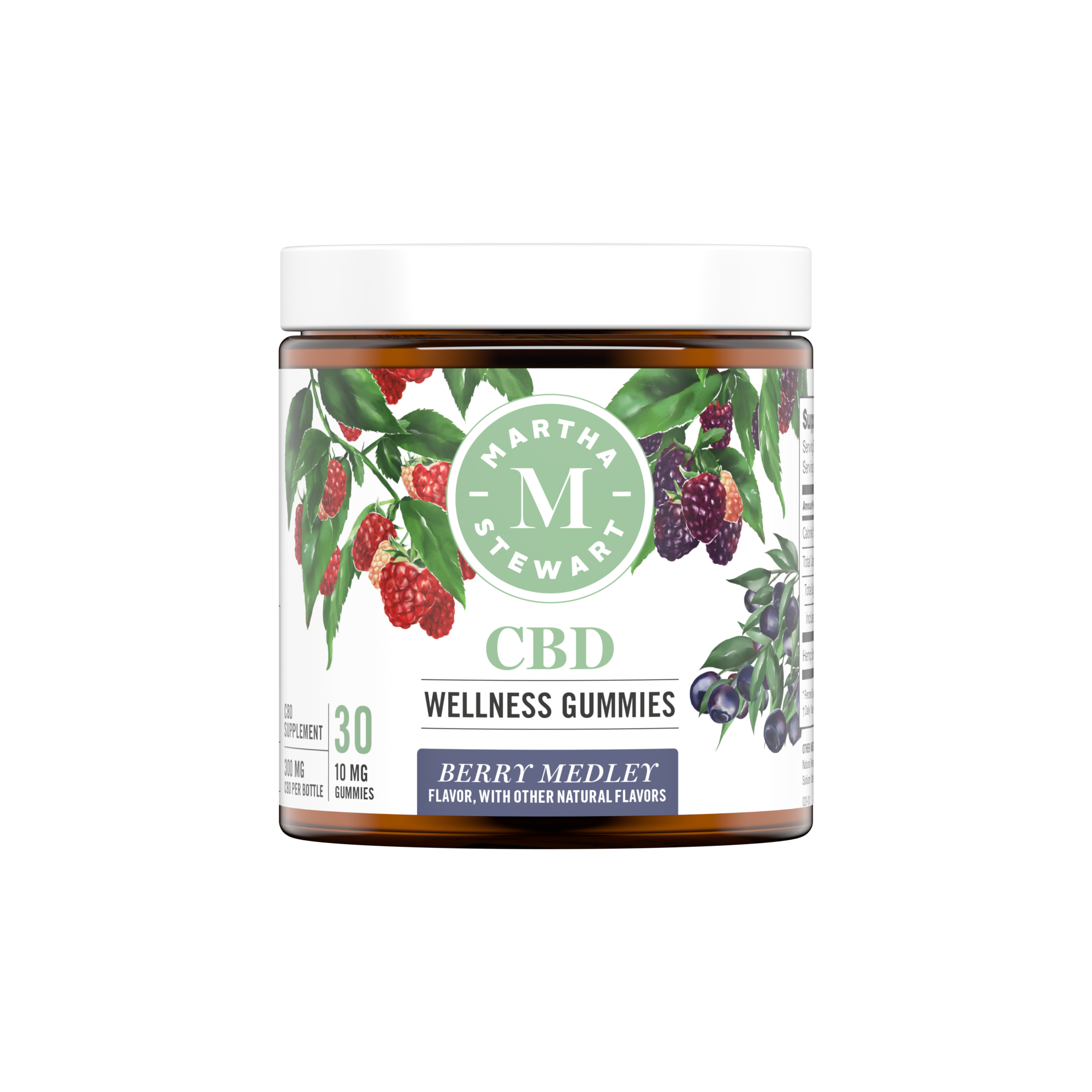 Martha Stewart CBD Wellness Berry Medley
