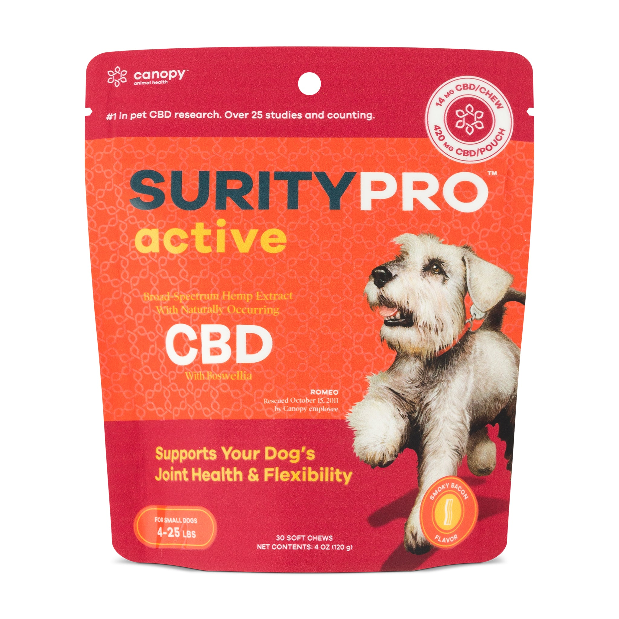 SurityPro Active Smoky Bacon Flavor Soft Chews