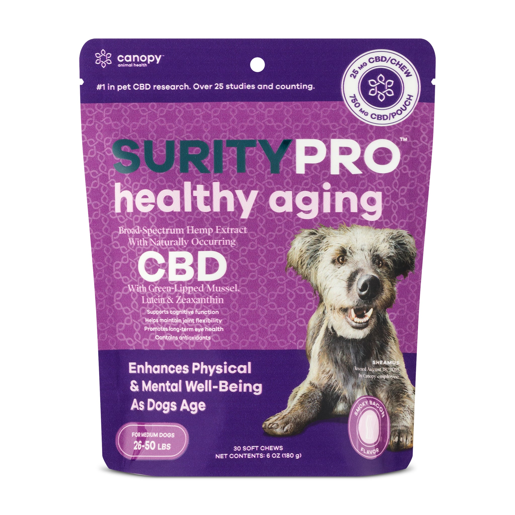 SurityPro Healthy Aging Smoky Bacon Flavor Soft Chews