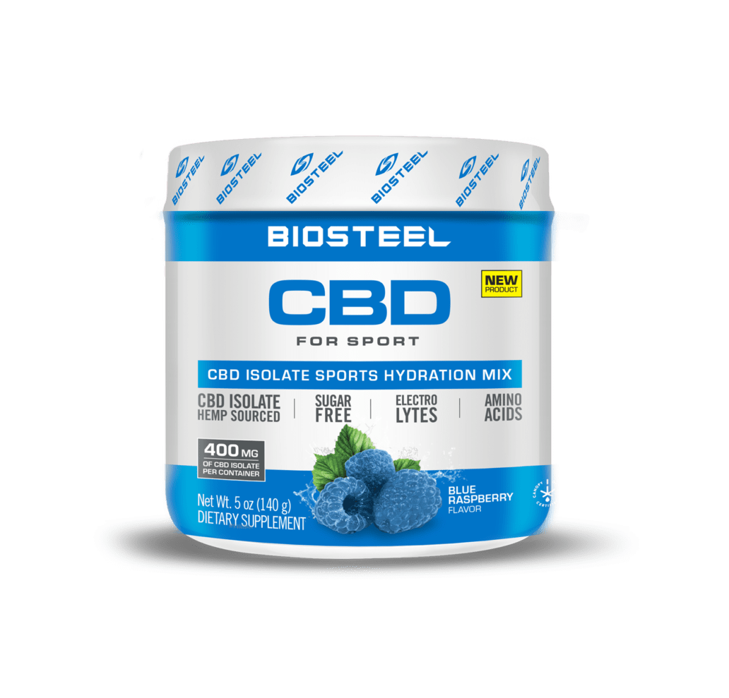 Biosteel CBD Blue Raspberry Sports Hydration Mix