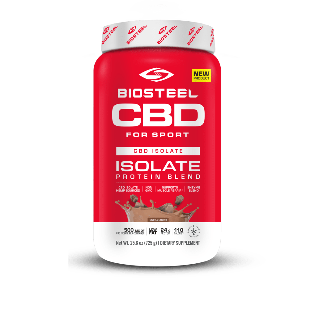 BioSteel CBD Isolate Chocolate Protein
