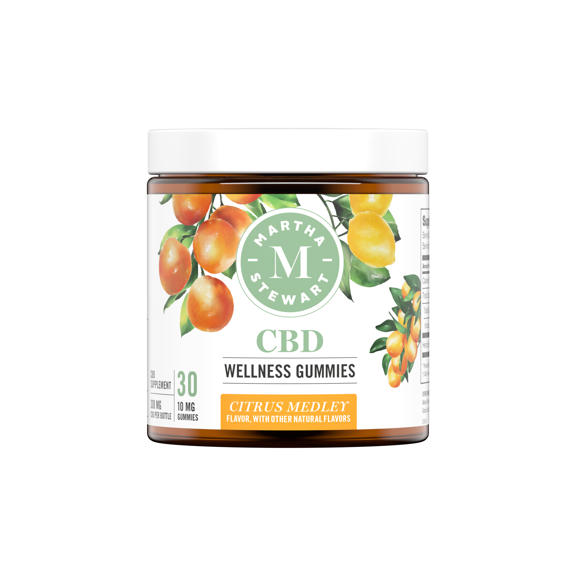 Martha Stewart CBD Wellness Citrus Medley Gummies