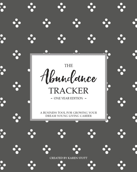 The Abundance Journal - A statistics & tracking tool designed specifically for your Young Living Business