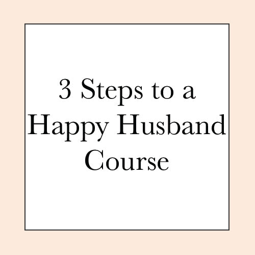 HAPPY HUSBAND COURSE PRE-SALE