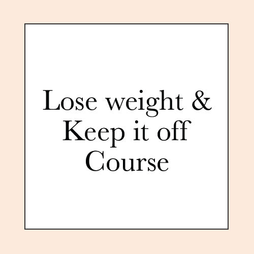 LOSE WEIGHT, FEEL GREAT COURSE PRE-SALE