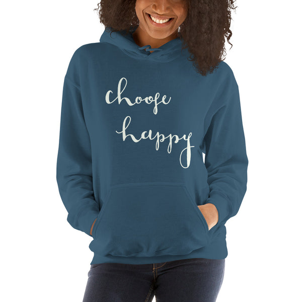 """Choose Happy"" Sweatshirt"