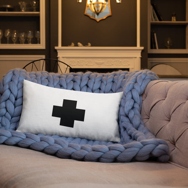 Swiss Cross pillow