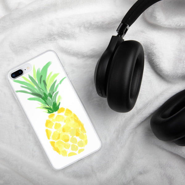 Pineapple watercolor phone case