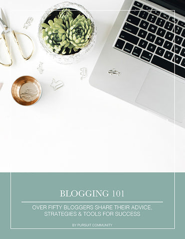 Blogging 101 - Pursuit E-Book