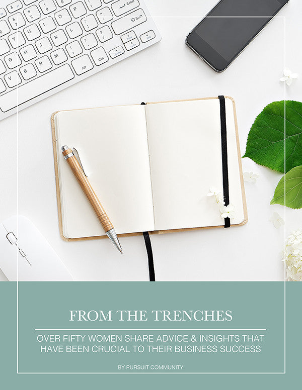 Advice From The Trenches - Pursuit E-Book
