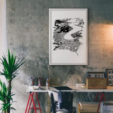 Load image into Gallery viewer, Dunedin Art Print Wall Insitu