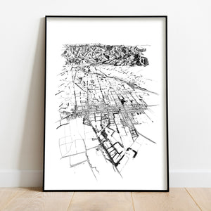 GREYTOWN ART PRINT