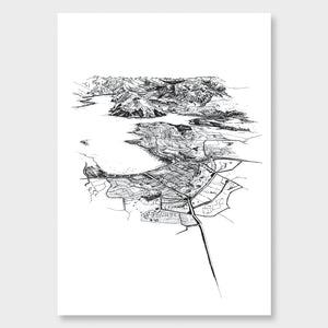Wanaka Art Print Unframed