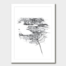 Load image into Gallery viewer, Wanaka Art Print White Classic Frame