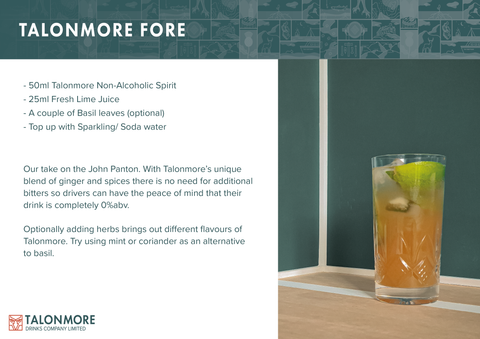 Talonmore Fore - Non-Alcoholic Cocktail/ Mocktail