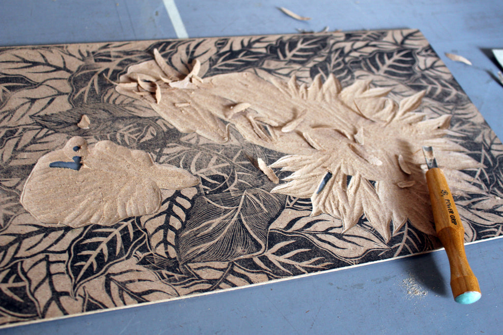 Printmaking in Oaxaca