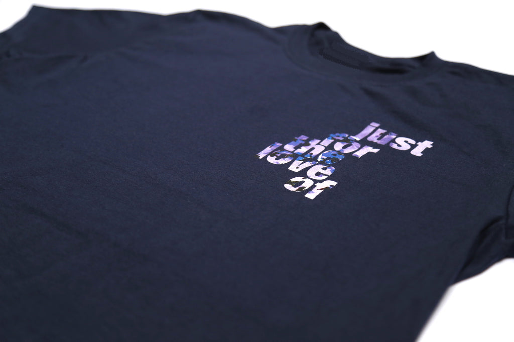 PREMIUM TEE / JUSTFORTHELOVEOF / NAVY