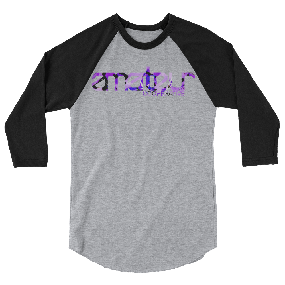 3/4 SLEEVE RAGLAN / INVERTED