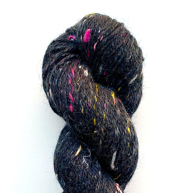 Hedgehog Fibres Tweedy Noir
