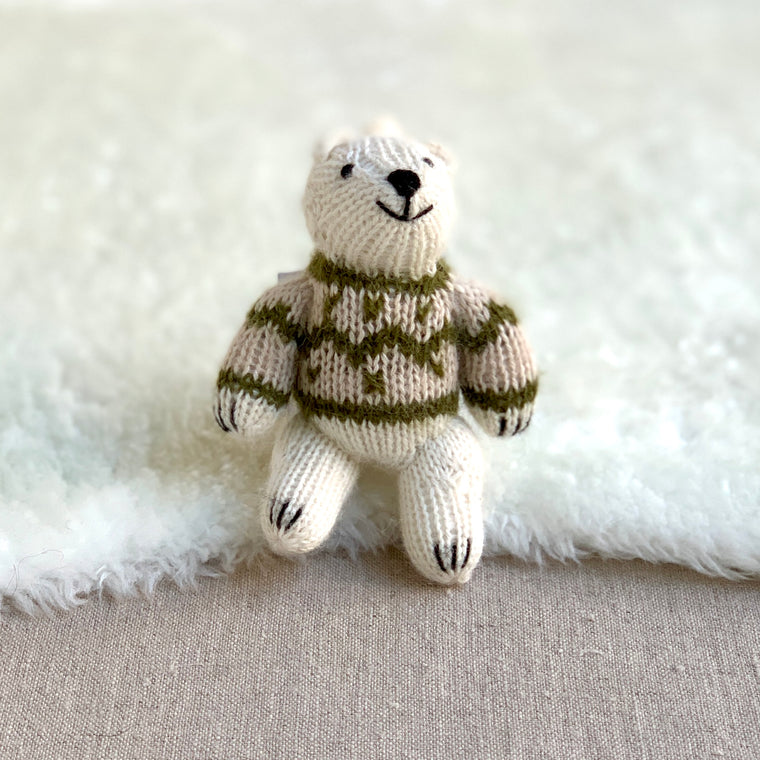 Knitted Animal Ornaments