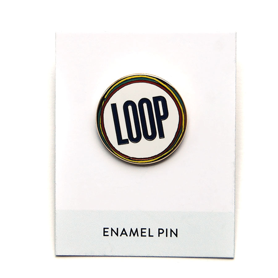 Loop Enamel Pin