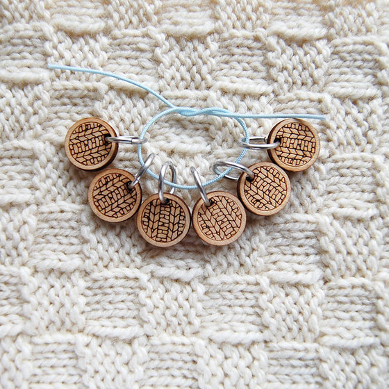 Knit Motif Stitch Markers