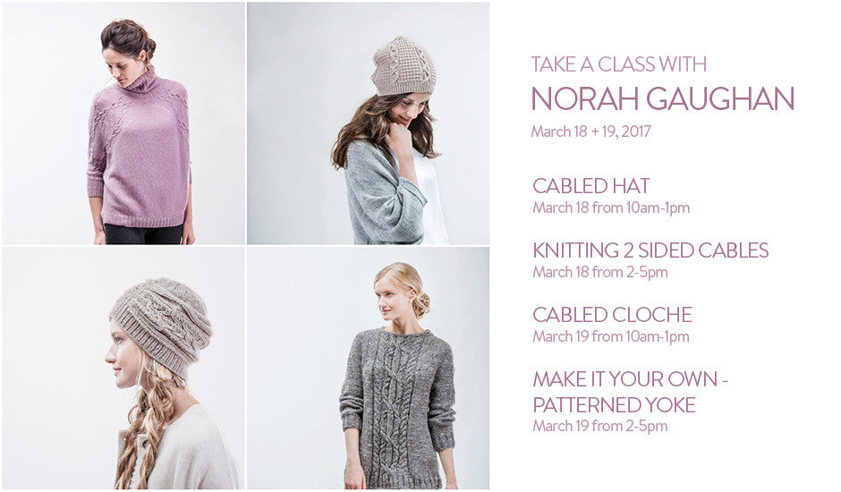 Take a Class with Norah Gaughan