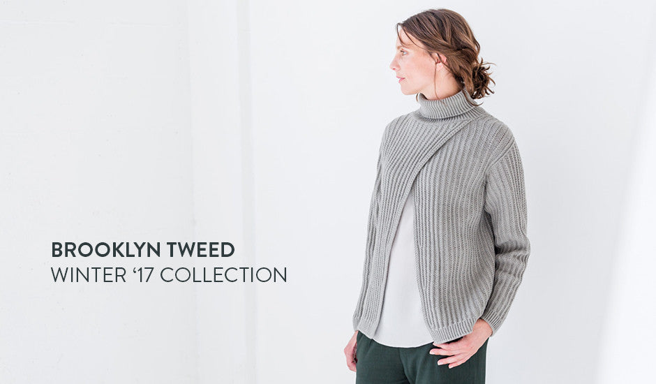 Brooklyn Tweed Winter 2017 Pattern Collection
