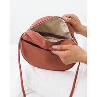 BAGGU : Medium Canvas Circle Bag