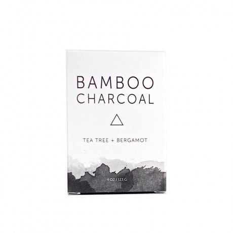 Herbivore Botanicals : Bamboo Charcoal Soap