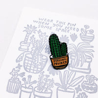 People I've Loved : Feeling Prickly Pin