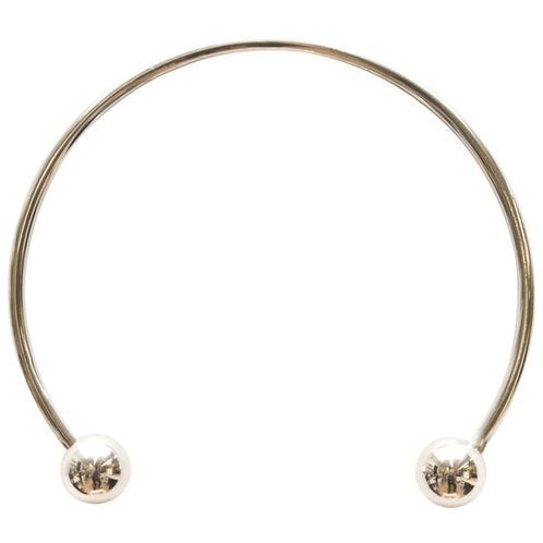 Maslo Jewelry : Silver Sphere Collar