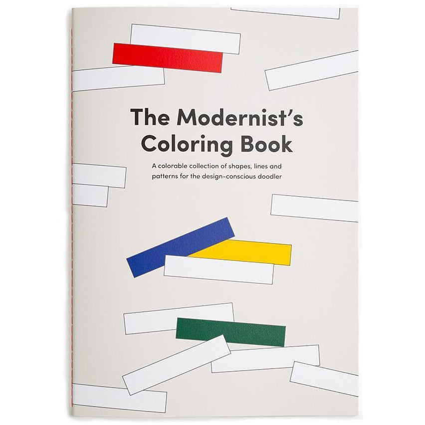 Poketo : Modernist's Colouring Book