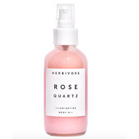 Herbivore Botanicals : Rose Quartz Illuminating Body Oil