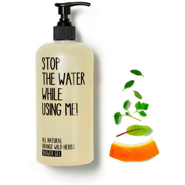 Stop The Water While Using Me : Orange Shower Gel